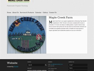 Maple Creek Farm